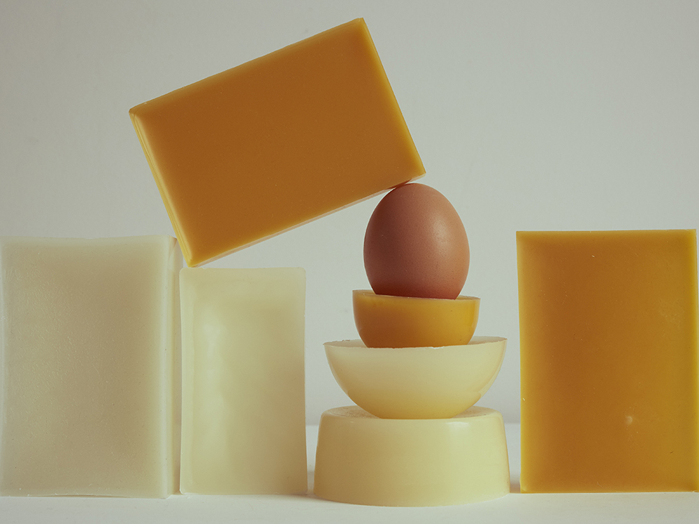 Stilllife photography of Wax and food